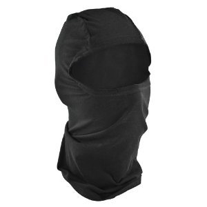 Zan Headgear Bamboo Balaclava , Primary Color: Black, Size: OSFM, Distinct Name: Black, Gender: Mens/Unisex WBB114