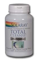 Solaray Total Cleanse Multisystem 120 Ea