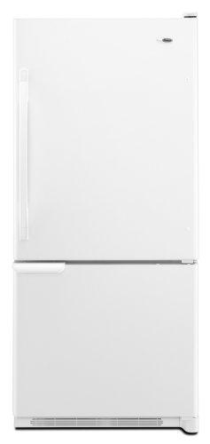 Amana 18-1/2-Cubic Foot Bottom-Freezer Refrigerator, ABB1921WEW