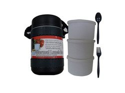 Handy Helpers Bulk Buys Insulated Lunch Canister With Containers And Cutlery