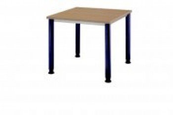 Hammerbacher Desk HS08 Nussbaum/blau