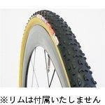 【GRIFO_33SK/wo】グリフォ 33 オープン WOタイヤ シクロクロス ブラックxスキン 700x33c