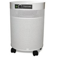 Air Purifier w True HEPA Filter in White
