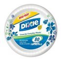 "Dixie 10 1/16"" Paper Plates, 80ct (2 Pack) (042000148436)"