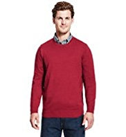 Blue Harbour Pure Cotton Crew Neck Jumper
