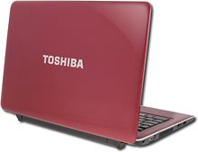 Toshiba Satellite T135D-S1325rd TruBrite 13.3-Inch Ultrathin Laptop (Red)