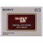 ソニー ミニDVカセット デジタルHD対応 63分 ICメモリーなし 5巻パック 5DVM63HD