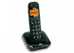 Brondi Sp-Phone Button Cordless Big Black Ecodect images