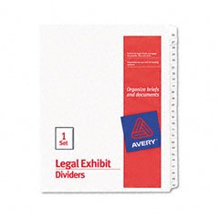 allstate-style-legal-side-tab-dividers-25-tab-26-50-letter-white-25-set-sold-as-1-set