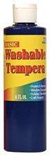 Pro Art Liquid Washable Tempera Paint, 8-Ounce, White kitepie542lim201710 value kit rock paint distributing corp tempera paint lim201710 and elmer s washable all purpose school glue sticks epie542