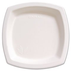 "Bare Eco-Forward Dinnerware, 8 1/4"" Plate, Ivory, 125/pack By: SOLO Cup Company"