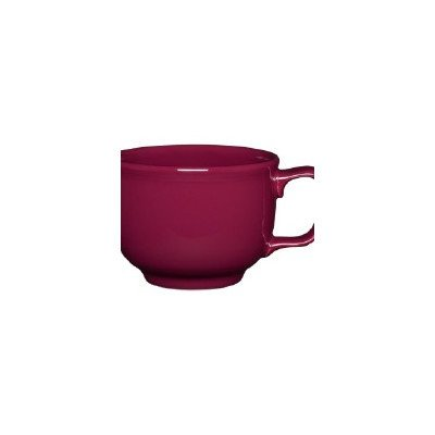 18 oz. Jumbo Cup [Set of 4] Color: Claret