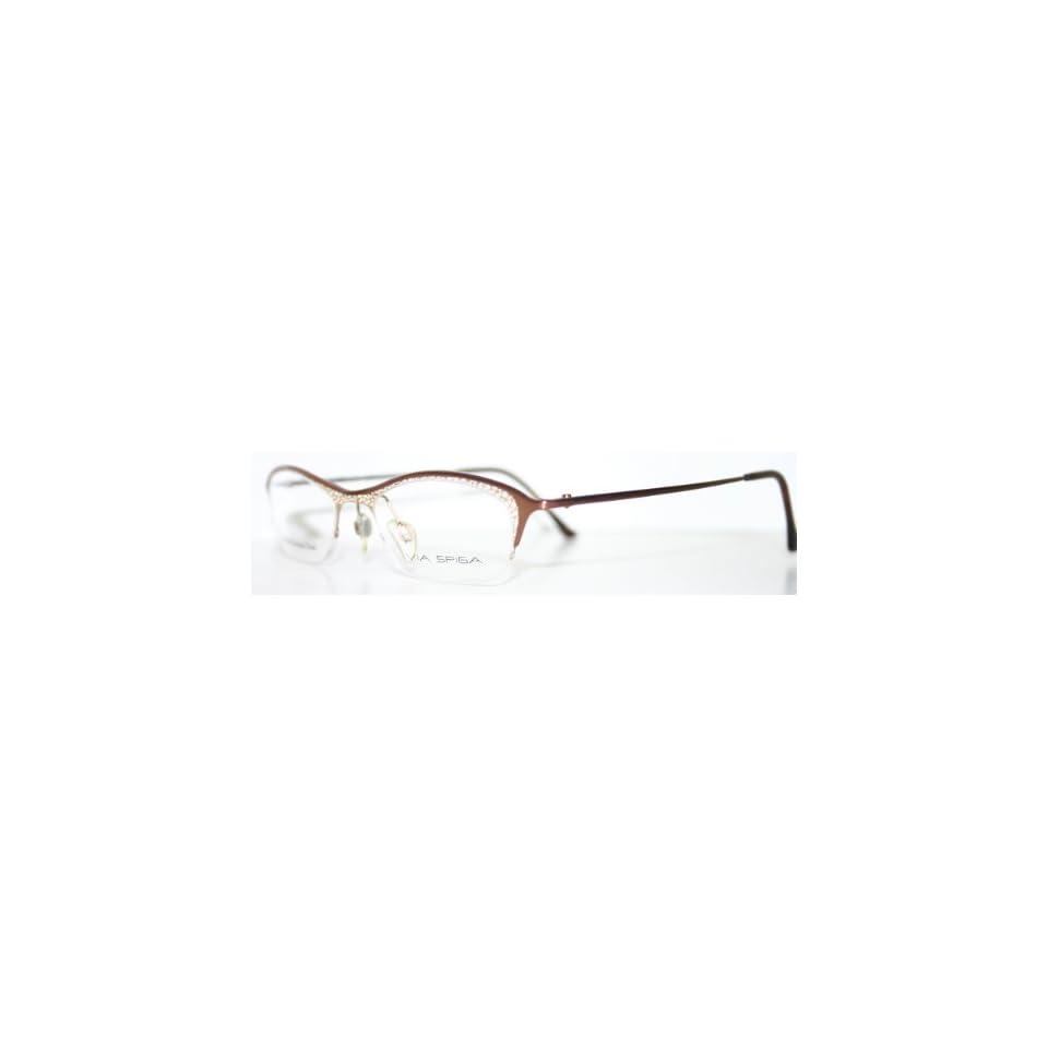 e5c9b92c0aad VALLELUCE BUTTERSCOTCH New Womens Rimless Optical Eyeglass Frames on ...