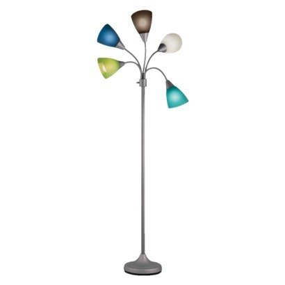 Room Essentials® 5-Head Floor Lamp - Blue