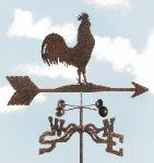 Rooster Garden Stake Weathervane