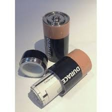 Duracell Battery Safe Stash Can