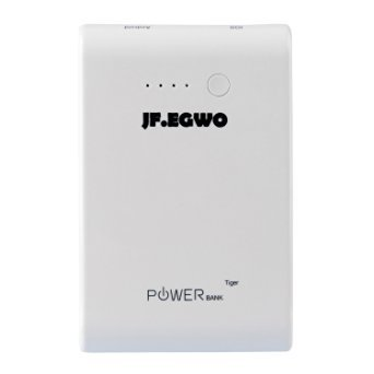 JF.EGWO 6200 Portable Wall Mount charger (Power Bank External Battery Pack) 3.1A USB Output With AC Plug For iPhone, iPad, Samsung Galaxy and more (Plug Power Pack compare prices)