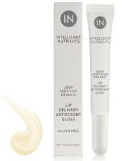 Intelligent Intelligent Nutrients USDA Certified Organic Antioxidant Lip Gloss - Clear Frosting