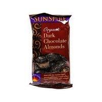 Sunspire Dark Chocolate Almonds (12×1.19 Oz)