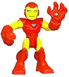 Marvel Playskool Super Hero Adventures Mini Figure Iron Man [Bagged] - 1