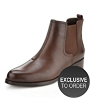 Autograph Leather Slip-On Chelsea Boots with Insolia Flex®