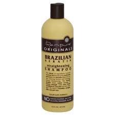 Renpure Originals Brazilian Keratin Straightening Shampoo -- 16 fl oz