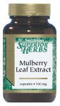 Mulberry Leaf Extract 500 mg 60 Caps by Swanson Superior Herbs
