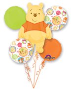 Disney'S Winnie The Pooh Welcome Little One Balloon Mylar Bouquet front-962806