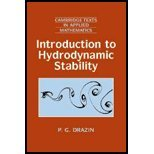 img - for Introduction to Hydrodynamic Stability by Drazin,P. G.. [2002] Paperback book / textbook / text book