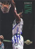 Stacey King Minnesota Timberwolves 1994 Skybox Autographed Hand Signed Trading Card. by Hall+of+Fame+Memorabilia
