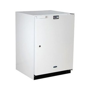 Refrigerator, Built In, White front-530438