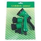 Aurora Adjustable Sprinkler Hose Nozzle Set (Multicolour) - 4Pc