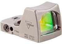 Ruggedized Miniature Reflex Rm01-C-700063 Nickel Boron 3.25 Moa Led Red Dot Sight