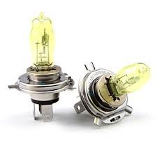 92 93 94 95 96 97 98 99 00 01 02 03 Honda Civic Dx/Ex/Lx/Gx/Si 2Pc 12V 100W H4/9003 Xenon Gas Golden Yellow High/Low Beam Light Bulbs 3000K (1Pair)