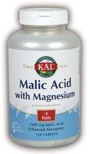 KAL - Malic Acid W/Magnesium, 120 tablets