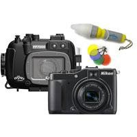 Fantasea Nikon Coolpix P7000 Camera & Underwater Housing Set (with FREE Fantasea Nano Spotter Light - a $9.95 Value)