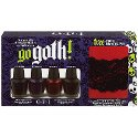 Go Goth! Halloween 2010 Mini, Lot of 4, OPI (FREE CUFF BRACELET) / Nail Polish / Lacquer / Enamel