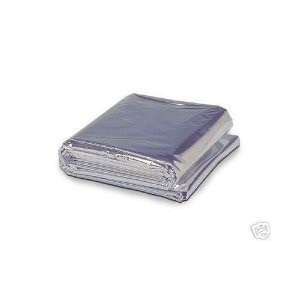 Think Safe Dynarex Mylar Emergency Response Blanket (Pack of 25) by First Voice