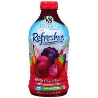 V8 V-Fusion Refreshers Black Cherry Berry Juice Beverage, 46 fl oz (00051000207562)