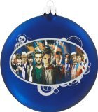 Doctor Who Kurt Adler Dr. Who Glass Disc Ornament, 100mm