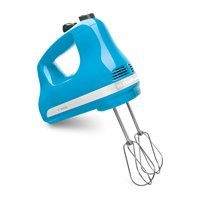 Kitchenaid  5 Speed Mechanical Speed Control Powerful Ultra Power Hand Mixer Swivel Cord crystal blue at Sears.com