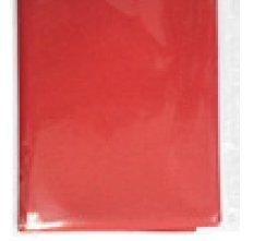Airlaid-Mitteldecke stoffähnlich rot 800x800mm