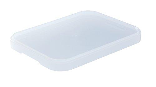 Sundis 1435400096 Deckel für Box Bure aus Kunststoff (PP), Format A6, circa 16 x 12 x 1.5 cm (LxBxH), transparent