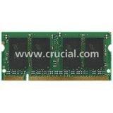 Crucial CT2KIT25664BC1067 4GB 204-PIN PC3-8500 SODIMM DDR3 Memory KIT (2GBx2)