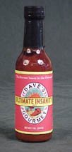 Daves Ultimate Insanity Hot Sauce Hottest Sauce In The Universe by Dave's Gourmet