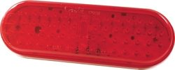 Grote G6002 Hi-Count Red Oval Led Lamp