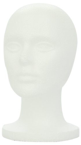 SHANY Cosmetics Female Styrofoam Head, 12 Inches,