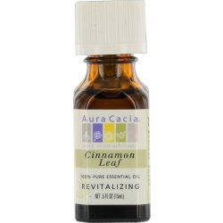 ESSENTIAL OILS AURA CACIA by CINNAMON LEAF-ESSENTIAL OIL .5 OZ