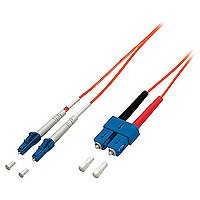 Equip LWL Patchkabel, LSOH LC/SC 50/125µ, 1,0 m orange