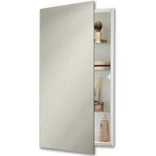 NuTone 869P24WH Specialty Flush Mount Single-Door Recessed Mount Medicine Cabinet